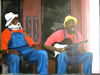 Les Musiciens de rue