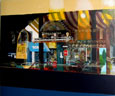 Reflets de brasserie - Acrylique sur toile - 73 x 60 cm