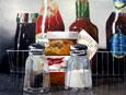 Sel Poivre - Acrylique sur toile -  46 x 38  cm